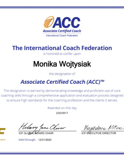 ACC Monika Wojtysiak